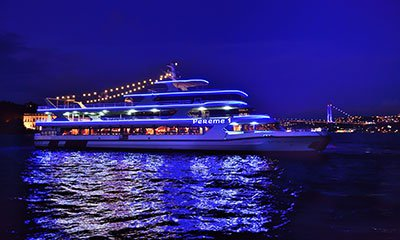 Bosphorus Dinner Cruise With Turkish Shows